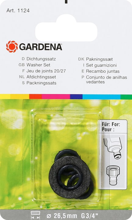 Original GARDENA System Dichtung Gardena 630410100000 Bild Nr. 1