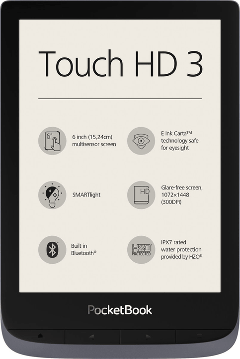 Touch HD 3 eReader Pocketbook 785300150647 Photo no. 1