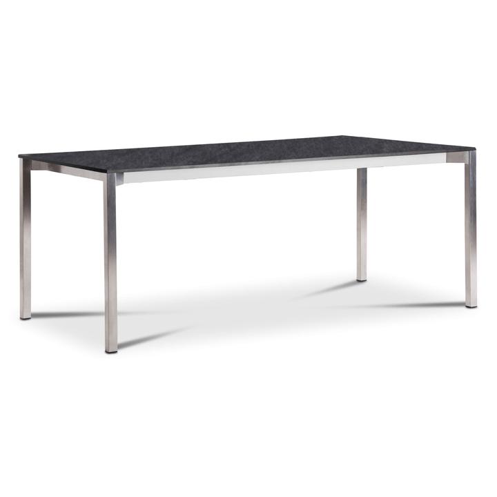 LUZON Table 368030700000 Dimensions L: 240.0 cm x P: 90.0 cm x H: 75.0 cm Couleur Gris foncé Photo no. 1
