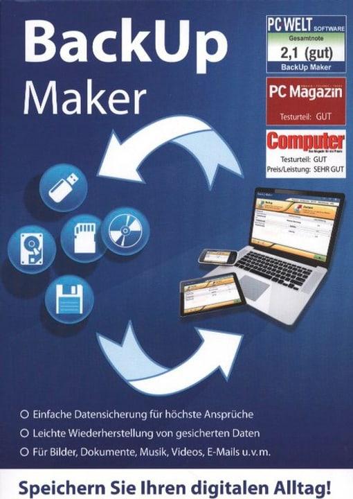 PC Backup Maker - Datensicherung Physique (Box) 785300121672 Photo no. 1