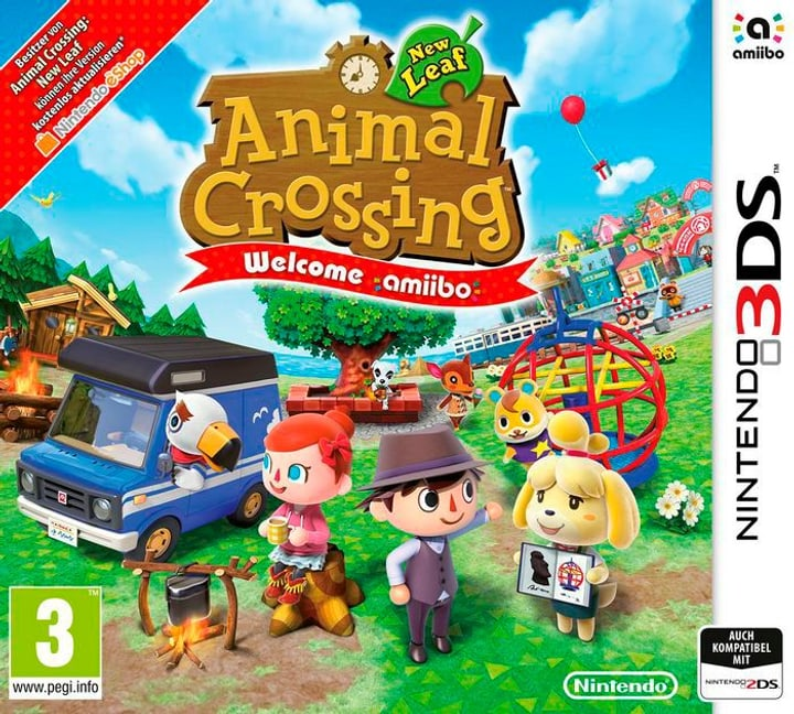 3DS - Animal Crossing: New Leaf - Welcome amiibo Box 785300122147 Photo no. 1