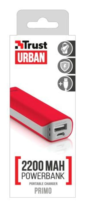 Primo Powerbank 2200mAh rouge Powerbank Trust 797973900000 Photo no. 1