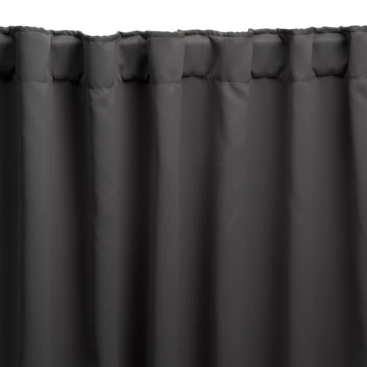 DARKY Rideau prêt à poser blackout 372037100000 Couleur Anthracite Dimensions L: 140.0 cm x H: 240.0 cm Photo no. 1