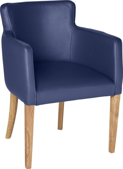 MORISANO Stuhl 402358300040 Grösse B: 56.0 cm x T: 46.0 cm x H: 79.0 cm Farbe Blau Bild Nr. 1