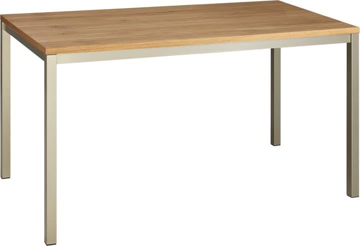ALEXIS II Tisch 402399715001 Grösse B: 140.0 cm x T: 80.0 cm x H: 75.0 cm Farbe Eiche furniert Bild Nr. 1