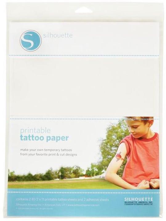 Tattoopapier bedruckbar Silhouette 785300131955 Bild Nr. 1