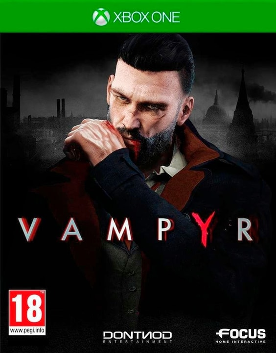 Xbox One - Vampyr Fisico (Box) 785300129096 N. figura 1