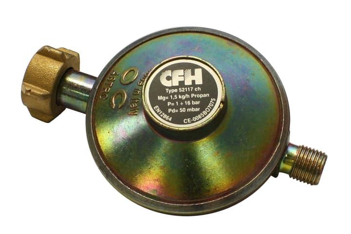 """Riduttore di pressione 50 mbar 1/4"""" sin. dr 117 Cfh 611706500000 N. figura 1"""
