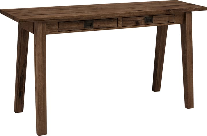 EMILIA Console 401048800080 Dimensions L: 160.0 cm x P: 42.0 cm x H: 80.0 cm Couleur Gris Photo no. 1