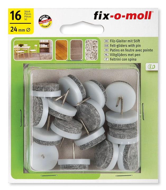 Filzgleiter mit Stift 4 mm / Ø 24 mm 16 x Fix-O-Moll 607070100000 Bild Nr. 1