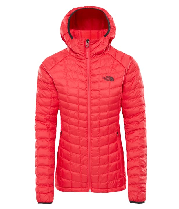 Thermoball Sport Hoodie Giacca isolante da donna The North Face 462798600329 Colore magenta Taglie S N. figura 1