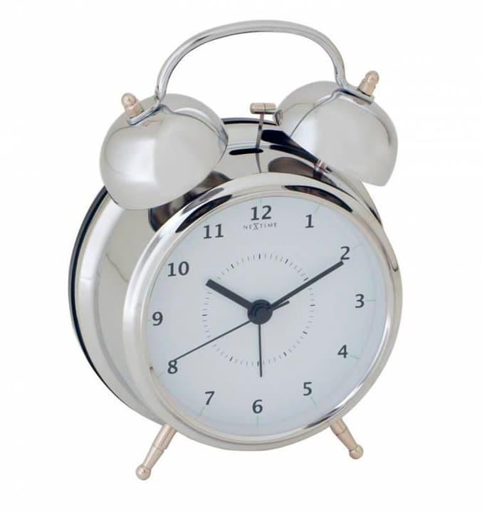 Wecker Wake Up Silber 12.5cm Dur NexTime 785300138462 Bild Nr. 1