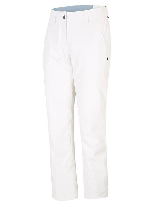 TAIPO B Pantalone da sci da donna Ziener 462545802010 Colore bianco Taglie 20 N. figura 1