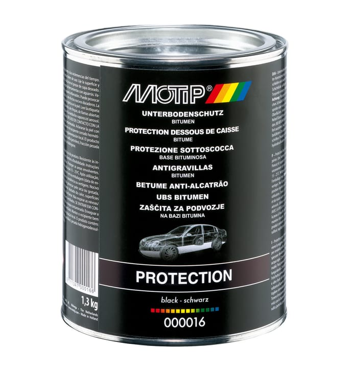 Protection de dessous de caisse bitume Protection contre la corrosion MOTIP 620839200000 Photo no. 1
