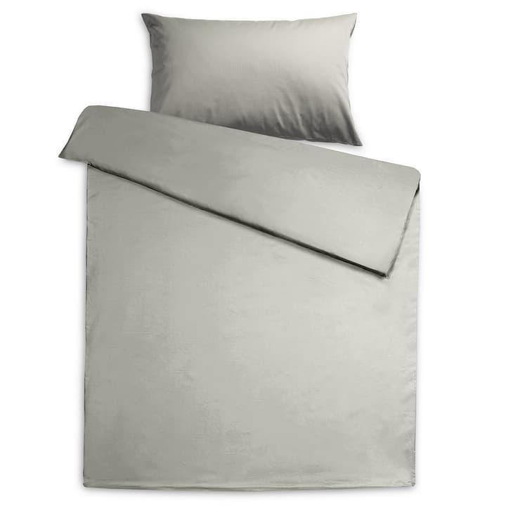 KOS Federa per cuscino raso 376079510980 Dimensioni L: 100.0 cm x L: 65.0 cm Colore Grigio N. figura 1