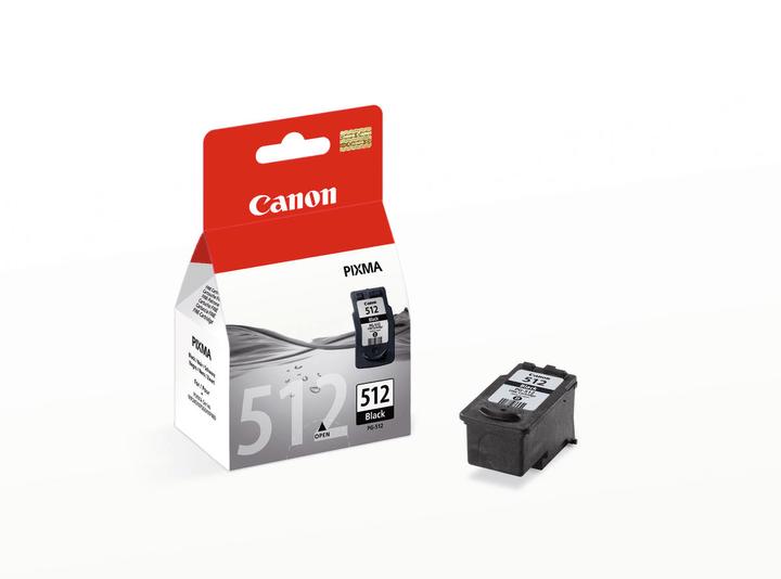PG 512 black Tintenpatrone Canon 797515800000 Bild Nr. 1