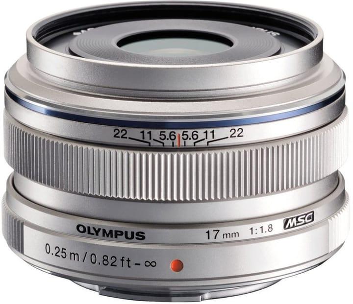 M.Zuiko DIGITAL 17mm F1.8 silber Objektiv Olympus 785300129915 Bild Nr. 1