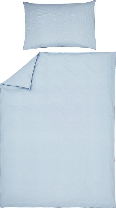 MARCO Federa per cuscino percalle 451195910640 Colore Blu Dimensioni L: 65.0 cm x A: 65.0 cm N. figura 1