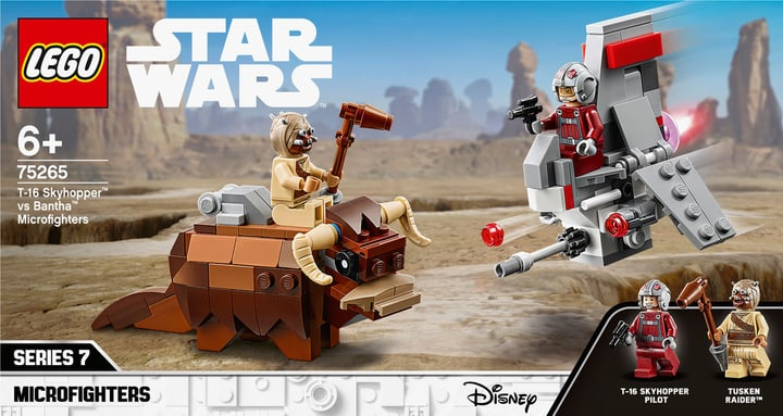 LEGO 75265 Skyhopper vs. Bantha Microfighters 748730000000 Bild Nr. 1