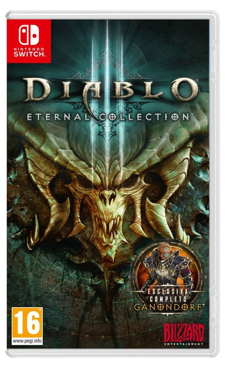 NSW - Diablo III Box 785300138484 Langue Italien Plate-forme Nintendo Switch Photo no. 1