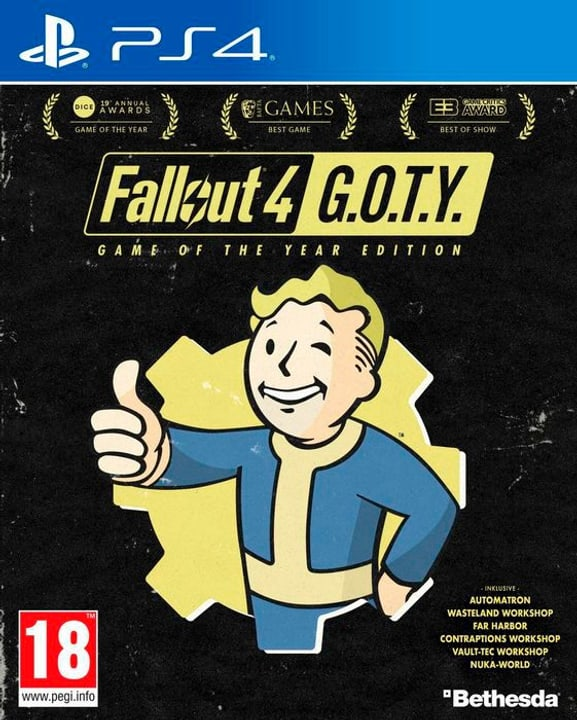 PS4 - Fallout 4 - GOTY Edition D 785300130134 Photo no. 1