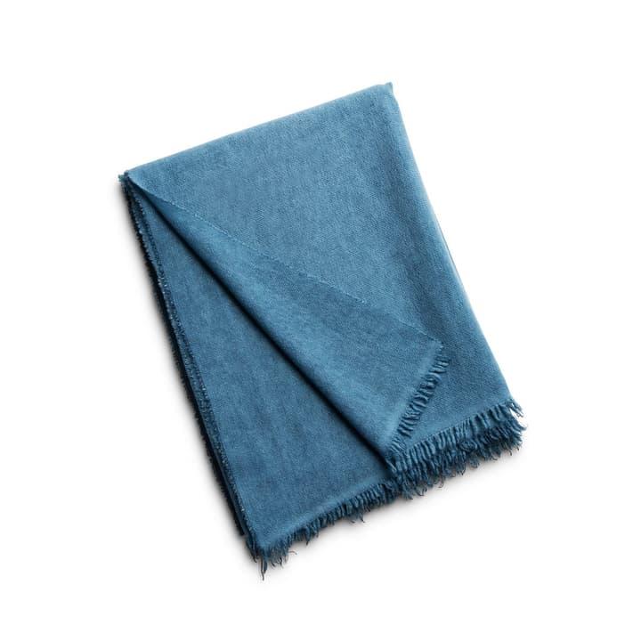 EVITA Plaid 378120800000 Farbe Blau Grösse B: 180.0 cm x T: 130.0 cm Bild Nr. 1