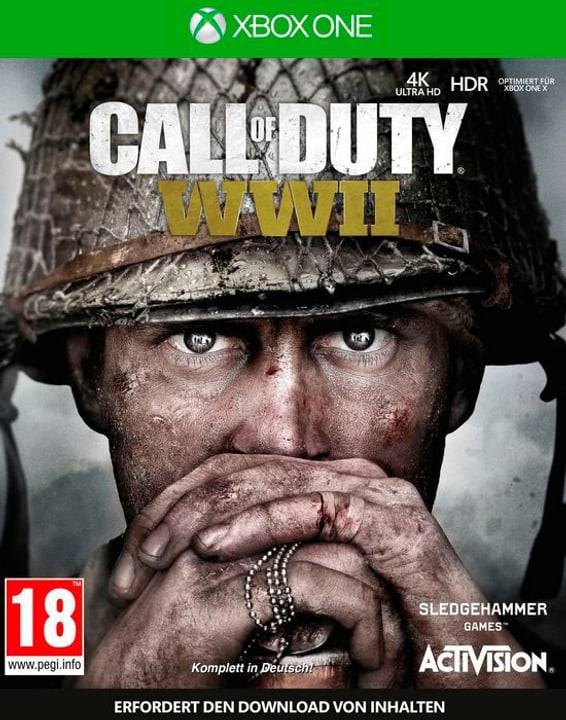 Xbox One - Call of Duty: WWII D 785300132056 Lingua Tedesco Piattaforma Microsoft Xbox One N. figura 1
