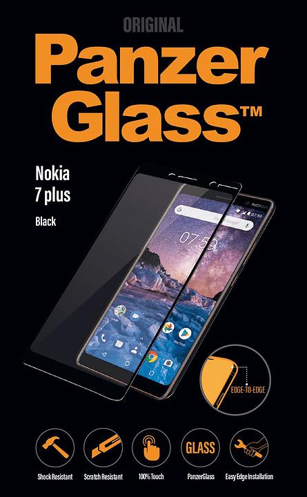 Screen Protector Edge2Edge for Nokia 7 Plus Schutzfolie Panzerglass 798620400000 Bild Nr. 1