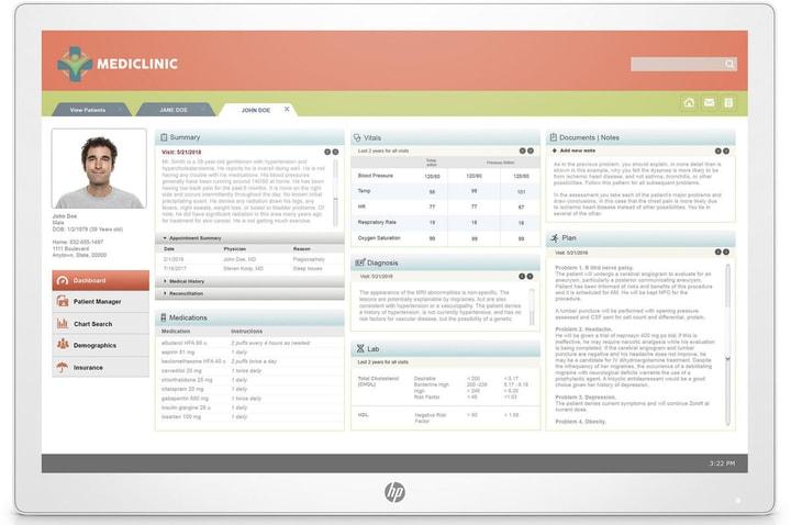 Healthcare Edition HC241p sans support Moniteur HP 785300152685 Photo no. 1