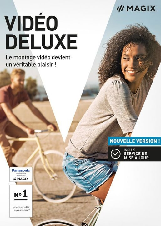 PC - Video deluxe 2018 (F) Physique (Box) Magix 785300129414 Photo no. 1