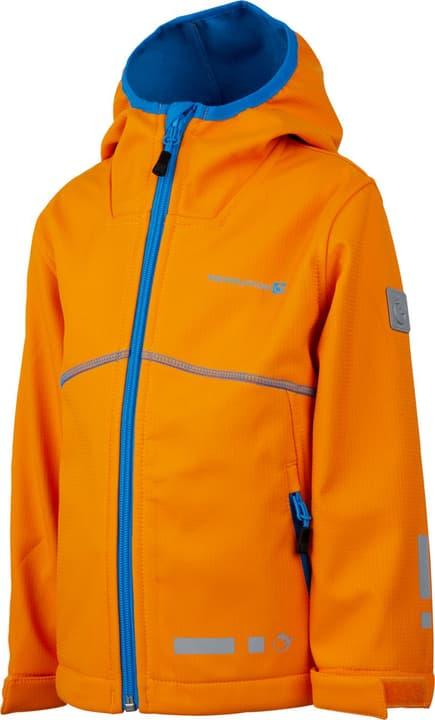 Giacca Softshell da bambino Trevolution 472348610434 Colore arancio Taglie 104 N. figura 1