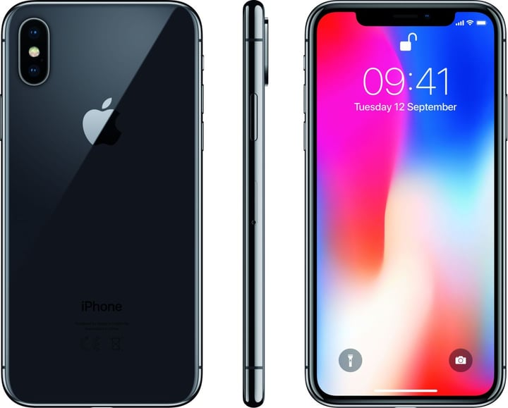 iPhone X 64GB Space grey Apple 794625100000 Photo no. 1