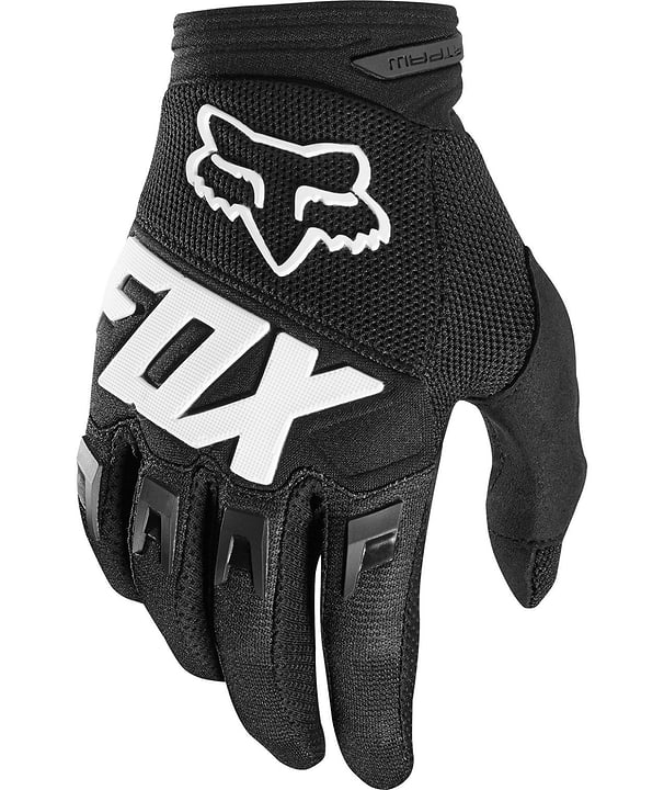 DIRTPAW Unisex-Bikehandschuhe Fox 461365100320 Farbe schwarz Grösse S Bild Nr. 1