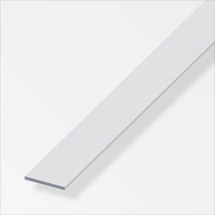 Flachstange 2 x 30 mm silberfarben 2 m alfer 605108800000 Bild Nr. 1