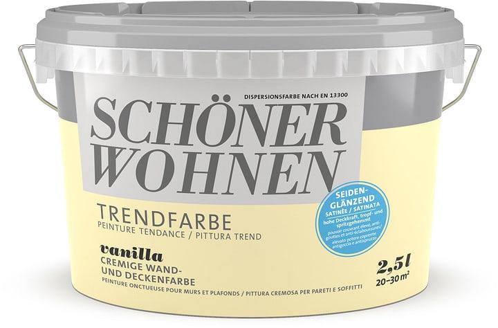 Trend Wandfarbe sdglz Vanilla 2.5 l Schöner Wohnen 660963600000 Farbe Vanilla Inhalt 2.5 l Bild Nr. 1