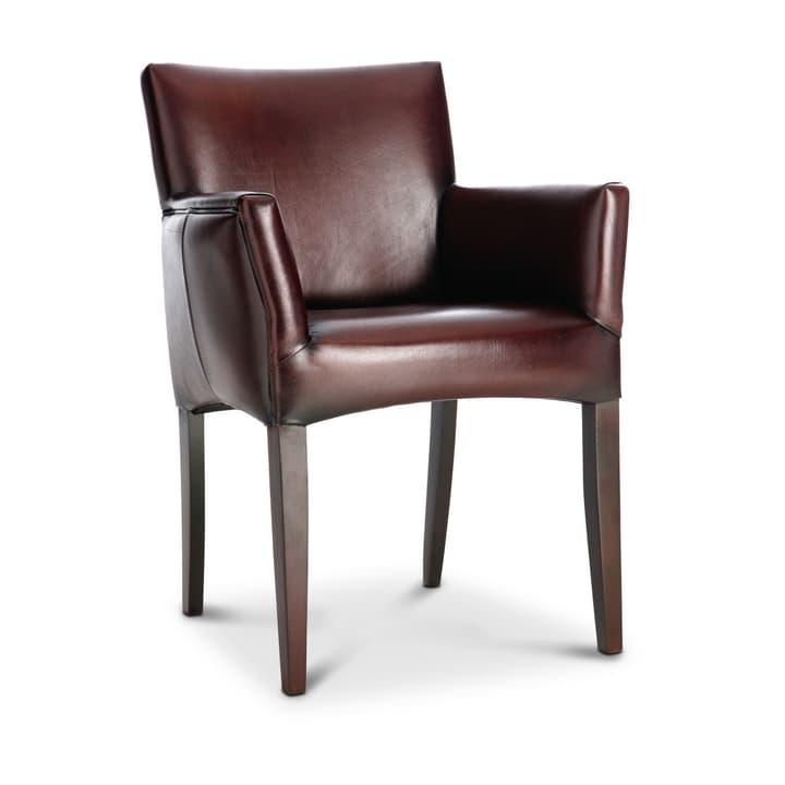 LAURIN II Sedia con braccioli 366006054001 Dimensioni L: 65.0 cm x P: 60.0 cm x A: 84.0 cm Colore Marrone scuro N. figura 1