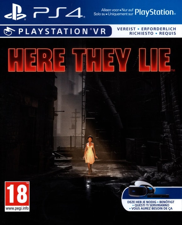 PS4 VR - Here They Lie VR Physique (Box) 785300121813 Photo no. 1