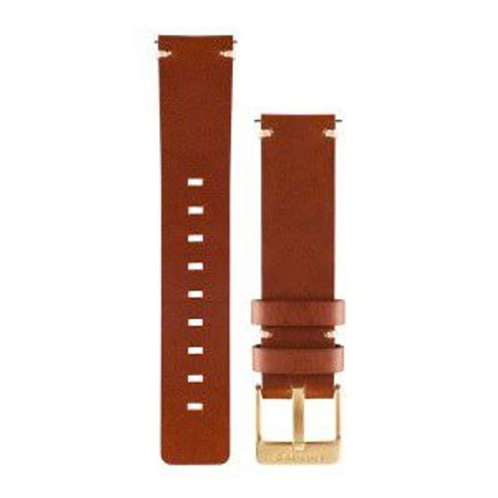 Vivomove cuir brun clair Bracelet Garmin 785300125513 Photo no. 1