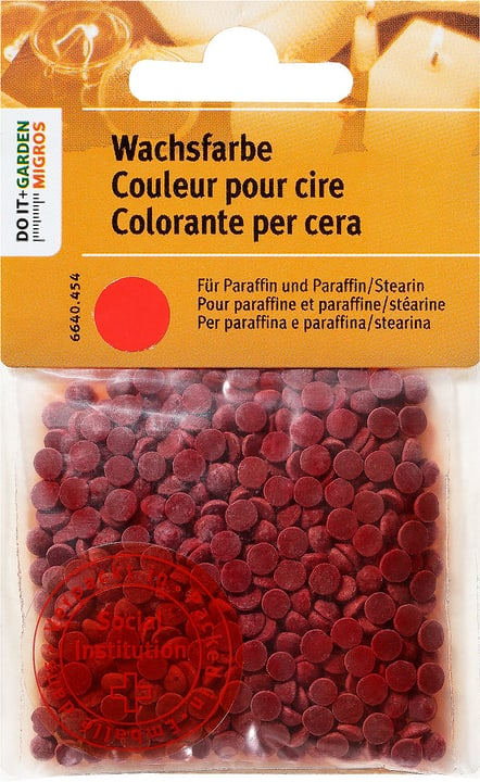 Wachsfarbe,Rot, Exagon 664045400000 N. figura 1