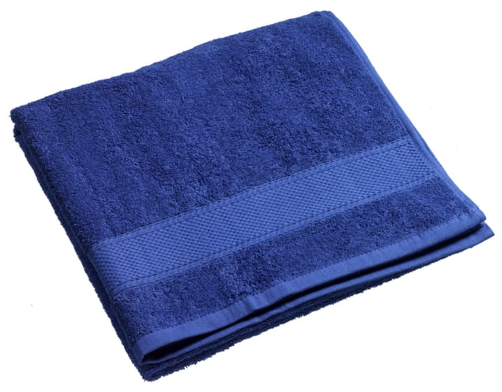 BEST PRICE Linge de douche 450845020543 Couleur Bleu foncé Dimensions L: 70.0 cm x H: 140.0 cm Photo no. 1