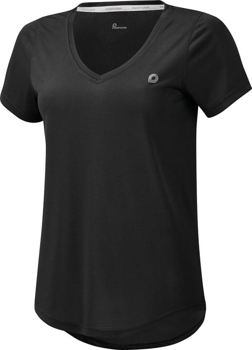 Shirt pour femme Perform 464906503620 Couleur noir Taille 36 Photo no. 1