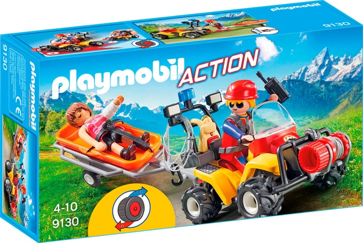 Playmobil Action Bergretter-Quad 9130 746075800000 Bild Nr. 1