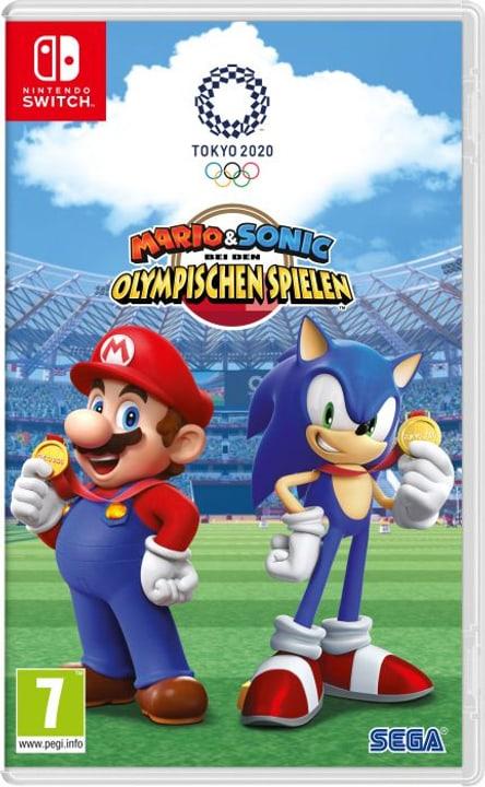 NSW - Mario & Sonic bei den Olympischen Spielen Tokyo 2020 Box Nintendo 785300147022 Langue Allemand Plate-forme Nintendo Switch Photo no. 1