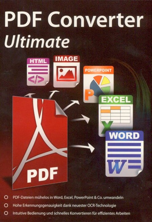 PC - PDF Converter Ultimate - Inklusive OCR-Technologie (D) Physique (Box) 785300122601 Photo no. 1