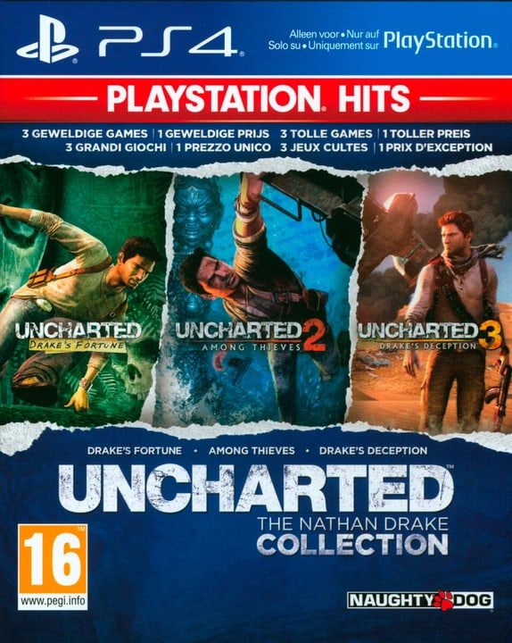 PS4 - PlayStation Hits: Uncharted Collection Box 785300147797 Photo no. 1