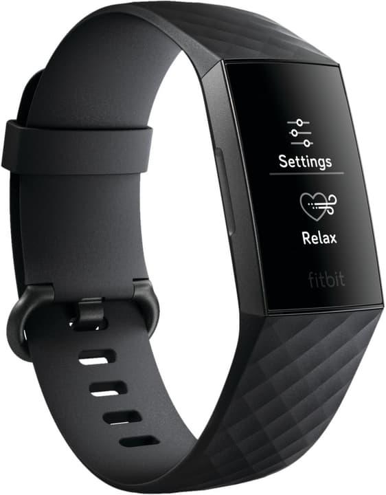 Charge 3 Graphite / Black Activity Tracker Fitbit 798451800000 Bild Nr. 1