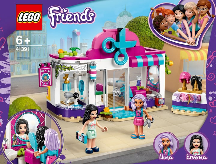 LEGO Friends 41391 Le salon de coiff 748726500000 Photo no. 1