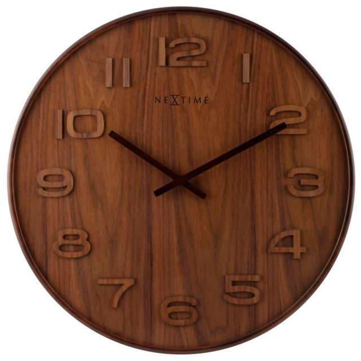 Wanduhr Wood Wood Big Durchmesse Wanduhr NexTime 785300138504 Bild Nr. 1