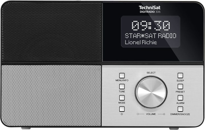DigitRadio 306 - Schwarz Digitalradio DAB+ Technisat 773024800000 Bild Nr. 1