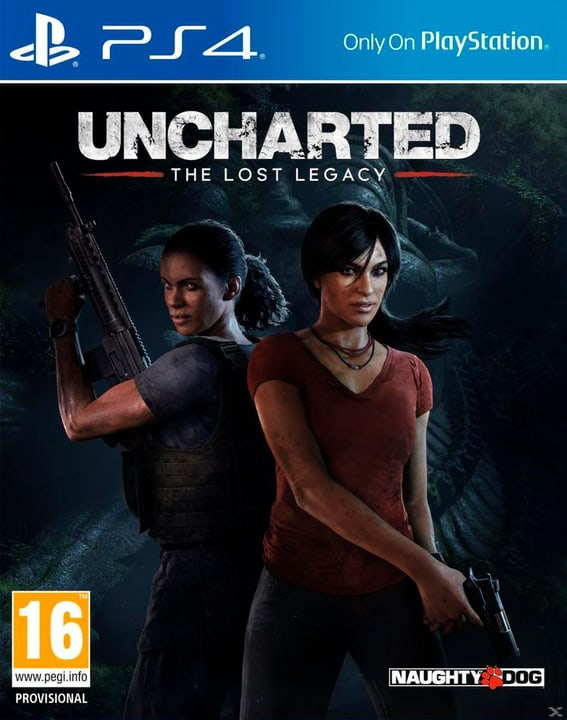 PS4 - Uncharted: The Lost Legacy Box 785300122428 Photo no. 1